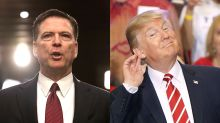 James Comey doesn't think Trump should be prosecuted: 'I'd rather the lights go out'