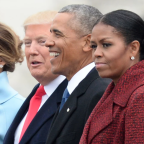 Michelle Obama Admits She 'Stopped Even Trying to Smile' During Donald Trump's Inauguration