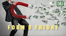 Form D Friday: Investing firm raising $60M, bank issues $8M in subordinated debt