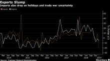 China Export Slump Adds to Concerns Over Weakening Global Growth
