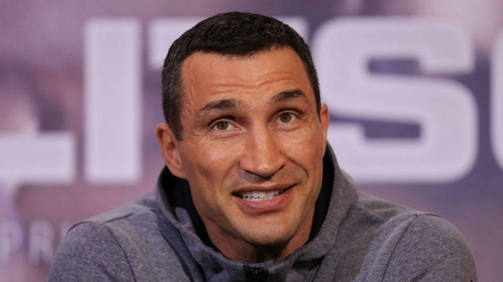 Happy underdog Klitschko talks up defeat for Joshua