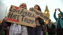 UK defends Trump state visit offer despite protest