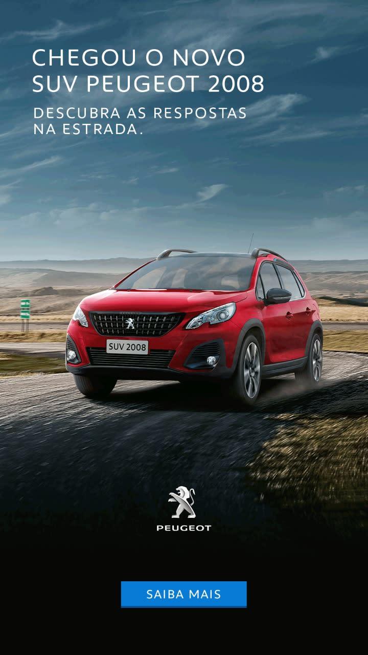 Chegou o Novo SUV Peugeot 2008