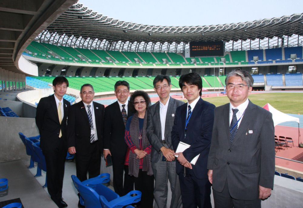 奧運》東京奧運事務訪高雄 推廣「接待城市專案」