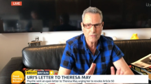 Uri Geller unveils anti-Brexit plan and claims to have made Theresa May PM using Winston Churchill's spoon