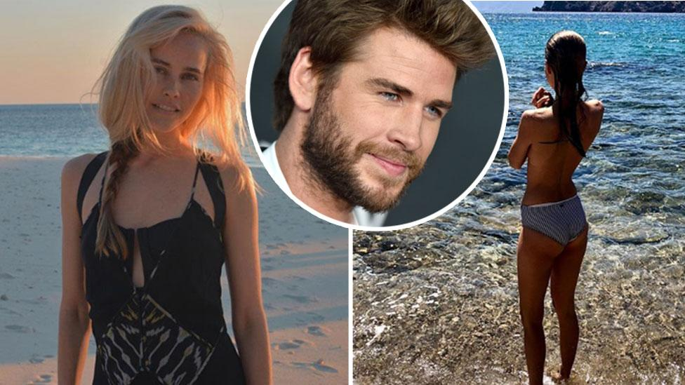 Liam Hemsworth 'spending time' with Home and Away star after split