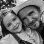David Beckham continues Valentine's Day celebrations with adorable picture of Victoria and Harper