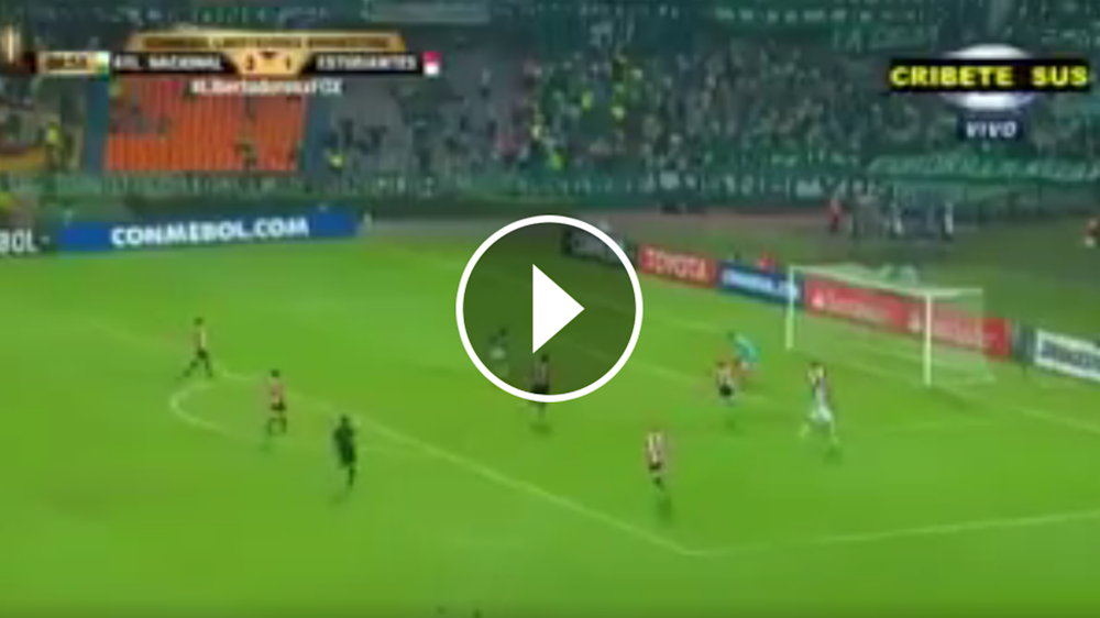 VIDEO: ¡La tocaron todos! Golazo de Atlético Nacional para liquidar a Estudiantes