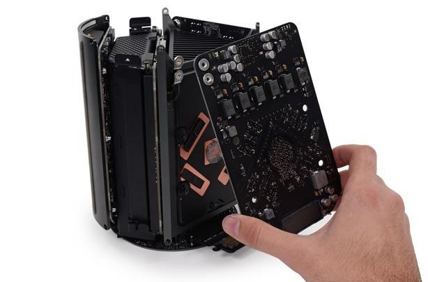 Mac Pro teardown reveals simple repair process and upgradeable CPU
