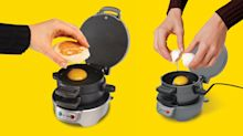 This breakfast sandwich maker has changed my mornings forever—and it's on sale for only $25!