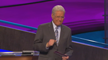 Alex Trebek gets choked up following 'Jeopardy!' contestant's answer
