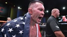 Colby Covington calls out Joe Biden, takes call from Donald Trump after beating Tyron Woodley