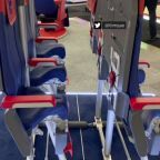 Company shows 'skyrider' standing seats at Paris Air Show