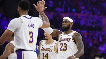 AD and LeBron fire on all cylinders in preseason
