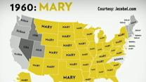 Instant Index: Trendy US Girls Names Over the Past 40 Years