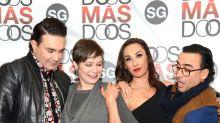 Mauricio, Mónica, Consuelo y Adal son Dos Más Dos
