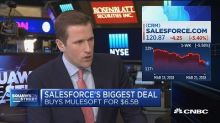 Salesforce's pricey MuleSoft deal could force rivals to pay up for cloud software companies