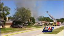 Home gutted by fire in Ormond Beach