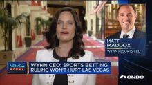 People come to Vegas for the party not sports betting: Wy...