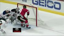 Toews dekes and goes five-hole on Dubnyk