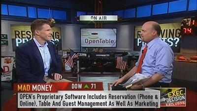 OpenTable CEO: Mobile is important part of growth
