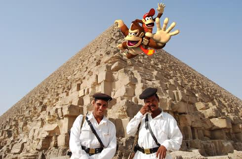 Paste Donkey Kong on photo, win a DS lite and DK Jungle Climber