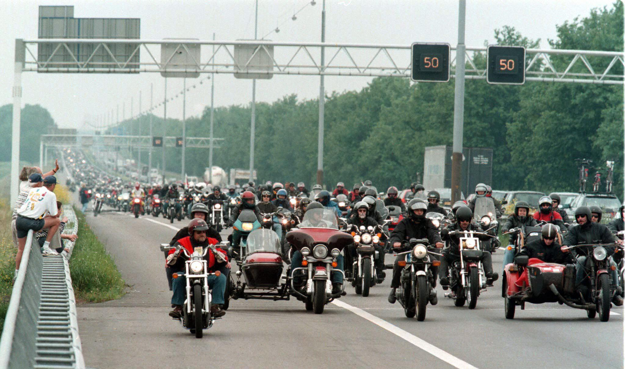 Motorcycle Gang Fight