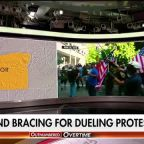 Mayor of Portland, Oregon issues warning ahead of weekend's dueling far-right, Antifa protests