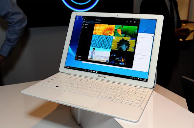 Samsung's Galaxy TabPro S is a crazy-thin Windows 10 2-in-1