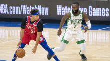 Embiid dominates again in 76ers' 122-110 win over Celtics