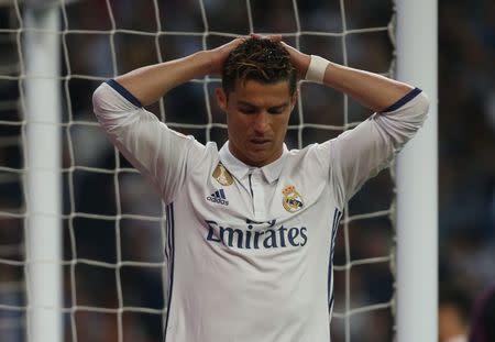 Atacante Cristiano Ronaldo, do Real Madrid