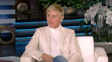 Ellen DeGeneres Jokingly Tells Her Staff 'Please Don't Look Me in the Eye' as She Returns to Show