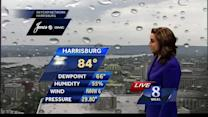 Scattered storms possible