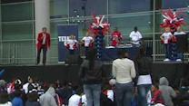Fans go all out for 'Go Houston Texans Day'