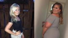 Elle confie sur Instagram être plus heureuse depuis qu'elle a pris du poids