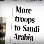 Eye Opener: U.S. sending more troops to Saudi Arabia