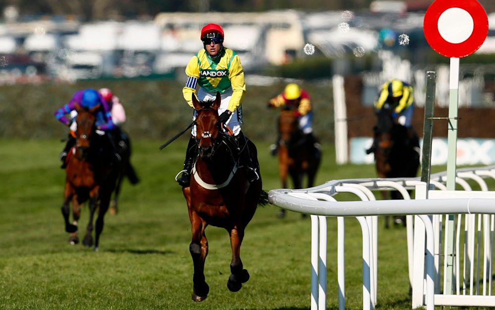 Robbie Power won the jockeys' title at the National meeting - REUTERS