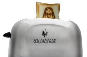 Battlestar Galactica Cylon Toaster produces fanboy-approved bread