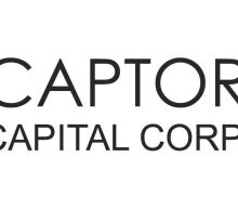 Captor Capital Releases Unaudited Financial Statements for the Quarter Ended September 30 2020