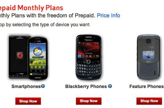 Verizon intros $50 unlimited plan, takes a swing at pre-paid operators