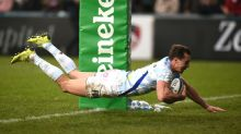 Imhoff double sees Racing past Leicester