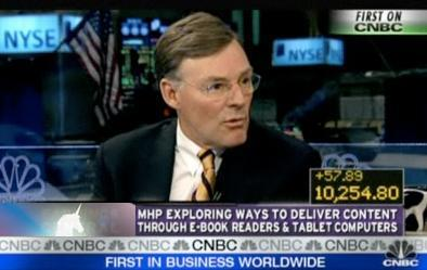 McGraw-Hill's CEO confirms Apple tablet, debuting tomorrow