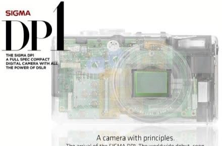 Sigma teases again with its full-spec DP1 compact camera