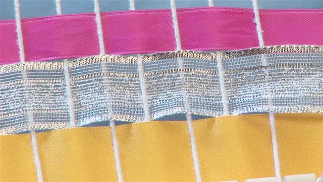 How To Weave With Ribbons