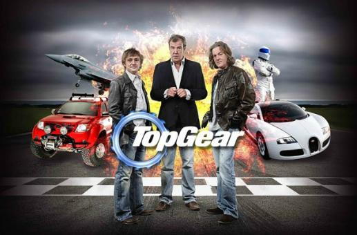 All three Top Gear hosts involved in Forza Motorsport 5