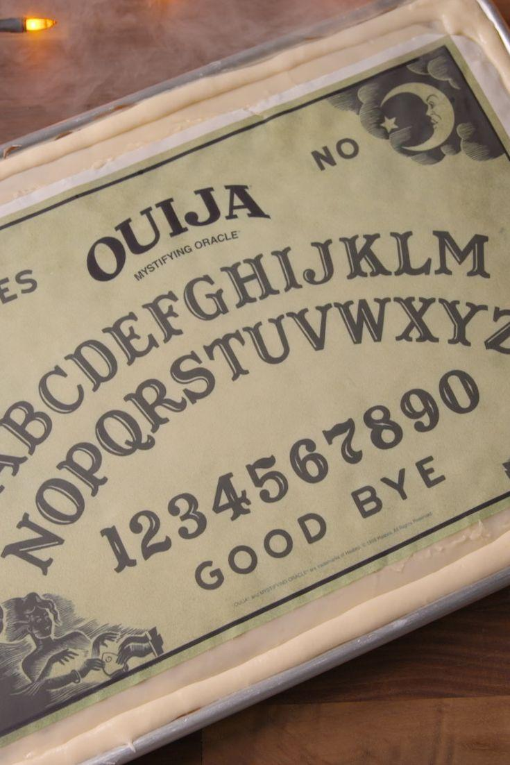 "<p>We predict this edible Ouija board will spell Y-U-M.</p><p>Get the recipe from <a href=""/cooking/recipe-ideas/recipes/a49580/ouija-board-cake-recipe/"" data-ylk=""slk:Delish"" class=""link rapid-noclick-resp"">Delish</a>.</p><p><a class=""link rapid-noclick-resp"" href=""https://www.amazon.com/Calphalon-Nonstick-Bakeware-Baking-2-Piece/dp/B008BUKO6G/?tag=syn-yahoo-20&ascsubtag=%5Bartid%7C1782.g.151%5Bsrc%7Cyahoo-us"" rel=""nofollow noopener"" target=""_blank"" data-ylk=""slk:BUY NOW"">BUY NOW</a> <strong><em>Calphalon Nonstick Bakeware, $30, amazon.com</em></strong></p>"