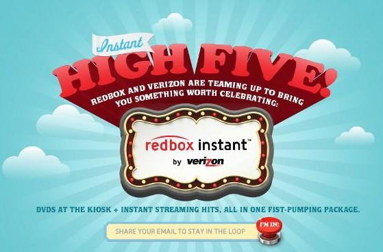 Redbox Instant enters alpha testing with help from Verizon (updated)