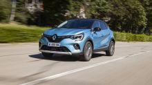 Renault Captur E-Tech Plug-in: bien placé