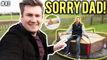 YouTube star makes vlog with his dad and the result is hilarious