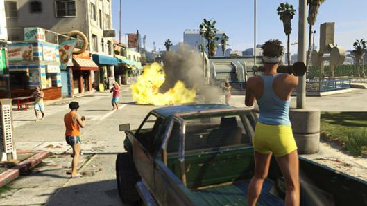 Race, deathmatch tools in GTA Online this week; heists and story content in 2014